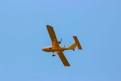 Aircraft during flight aviation Royalty Free Stock Photos