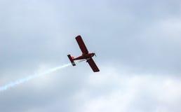 aircraft during flight aviation Stock Photo