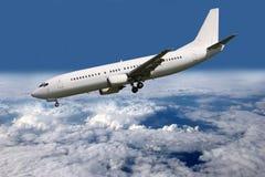 Aircraft in flight Stock Photos