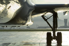 Aircraft front view Royalty Free Stock Photography