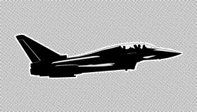 Aircraft illustration Stock Images