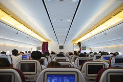Aircraft inside Stock Image