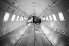 Aircraft inside Royalty Free Stock Photos