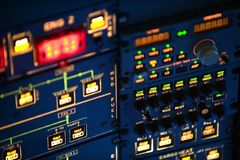 Aircraft instrument Royalty Free Stock Photo