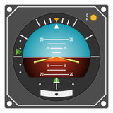 Aircraft instrument - Flight Director Indicator Royalty Free Stock Image