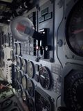 Aircraft Instrument Panel Royalty Free Stock Images