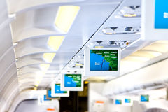 Aircraft interior Stock Photos