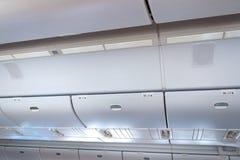 Aircraft interior Stock Photography