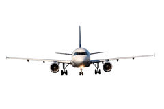 Aircraft Isolated On White Background Stock Photos