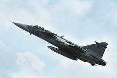 Aircraft JAS 39C Gripen Royalty Free Stock Photography