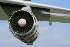 Aircraft jet engine Royalty Free Stock Photo