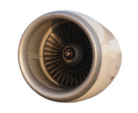 Aircraft jet engine turbine Royalty Free Stock Photography