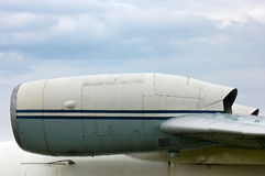 Aircraft jet engines Stock Images