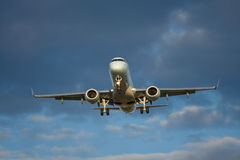 Aircraft Landing Stock Photography