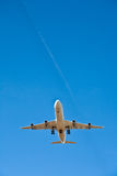 Aircraft in landing approach Royalty Free Stock Photography
