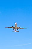Aircraft in landing approach Stock Photo