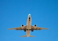 Aircraft landing Royalty Free Stock Image