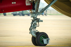 Aircraft landing gear Royalty Free Stock Photography