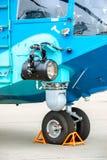 Aircraft landing gear Royalty Free Stock Photos