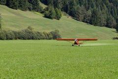 Aircraft landing Royalty Free Stock Images