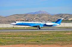 Aircraft Landing Royalty Free Stock Photography
