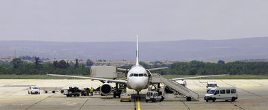 Aircraft maintenance Royalty Free Stock Photos