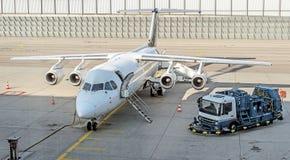 Aircraft maintenance. Stock Image