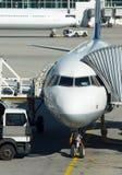 Aircraft maintenance. Stock Photos