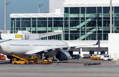 Aircraft maintenance. Stock Images