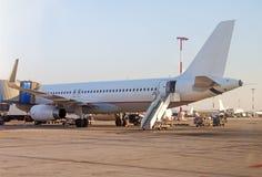 Aircraft maintenance. Royalty Free Stock Photos