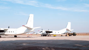 Aircraft maintenance Royalty Free Stock Photography