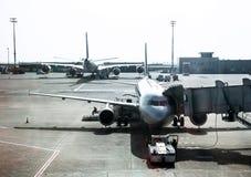 Aircraft maintenance Royalty Free Stock Image