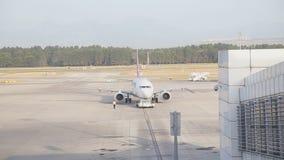 Aircraft maintenance stock video
