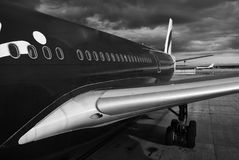 Aircraft in Melbourne Royalty Free Stock Photo