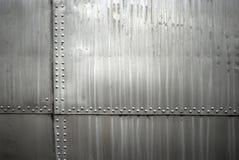 Aircraft metal texture Stock Image