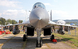 Aircraft Mig-29 Fulcrum Stock Photos