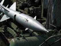 Aircraft missile Royalty Free Stock Photography