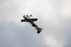 Aircraft - Model Aircraft - low wing aerobatics Royalty Free Stock Image