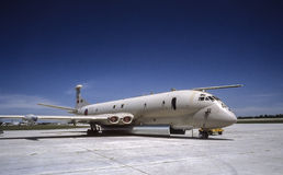RAF Nimrod Aircraft on tarmac Royalty Free Stock Photo