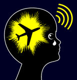 Aircraft Noise Exposure Stock Photography