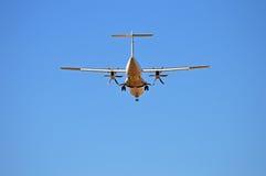 Aircraft Overhead Stock Photo