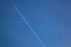 Aircraft Passed on Blue Sky during Daytime Royalty Free Stock Photo
