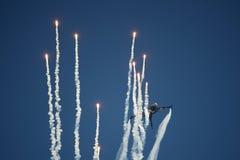 Aircraft performance Royalty Free Stock Photos