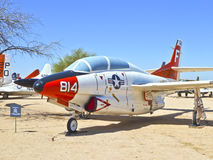 Aircraft in the Pima Air and space Royalty Free Stock Image