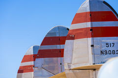 Aircraft in  Pima Air and space Museum Royalty Free Stock Images