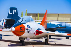 Aircraft in  Pima Air and space Museum Stock Images