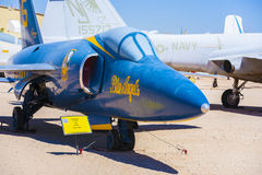 Aircraft in  Pima Air and space Museum Royalty Free Stock Photo