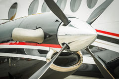 Aircraft propeller Royalty Free Stock Photo
