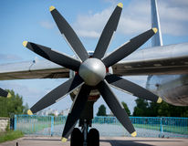 Aircraft propellers Royalty Free Stock Photo