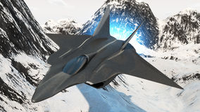 Aircraft prototype Stock Images